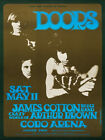 THE DOORS Concert Poster - Giclee Reproduction Full Colour Wall Art Print