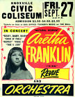 ARETHA FRANKLIN Concert Poster - Giclee Reproduction Full Colour Wall Art Print