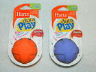 Hartz Dura Play Bacon Scented Ball - Size Small - Orange Or Purple - New