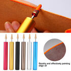 Copper Leather Craft Edge Dye Roller Pen Applicator Oil Painting Finisher Tool