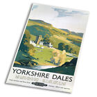 Yorkshire Dales Travel Bristish - Vintage Art Print Poster - A1 A2 A3 A4 A5