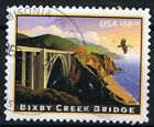2010 US SC# 4439 Express Mail Bixby Creek Brigde $18.30 used (Off Paper)