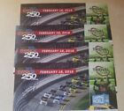 2 or 4 Tickets; Nextra Energy 250 at Daytona; Speedway.  Trioval Club