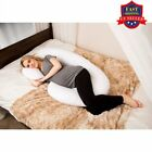 Total Body Pillow Pregnancy Maternity Comfort Support Cushion Sleep C-Shape BP image