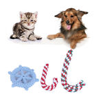 Pet Toy Braided Cotton Rope Animal Puppy Dog Chew Bite Training Playing Tools