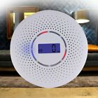 Smoke Alarm/LCD CO Carbon monoxide smoke integrated alarm Detector Warn Sensor K