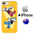 Silicone iPhone Case Cover Case Cuphead Retro indie Game Betty Boop mugman Disne $12.99 AUD
