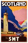 Vintage Scotland By SMT Holiday Travel Poster Art Re-Print A3 A4
