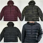 ABERCROMBIE & FITCH LIGHT WEIGHT DOWN-FILLED HOODED POPOVER, M, L RETAIL $140
