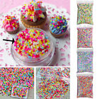 100g DIY Polymer Clay Colorful Fake Candy Sweets Sugar Sprinkles All Party Decor image