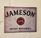 JAMESON Irish Whiskey METAL SIGN,  2 Sizes Available ideal for pub,  bar Man Cave