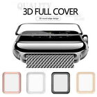 3D Curve Full Cover Tempered Glass Screen Protect for Apple Watch 42mm Soft Edge