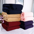 Large Plush Super Soft Warm Flannel Blanket Throw for Sofa Bed Quilt