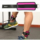 US Gym Sports Ankle D-Ring Strap Leg Thigh Pulley Lifting Accessory Adjustable