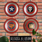 Avengers Captain America Shield Iron Replica Cosplay Prop Bar Decoration Gift