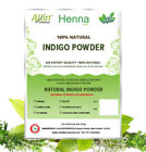 INDIGO POWDER - 100% ORGANIC AND NATURAL Indigofera Tinctoria Hair Powder 60g