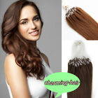High Quality Indian Remy Human Hair Extensions Micro Ring Beads Loop Tip Hair 7A