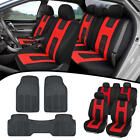 Car SUV Van Seat Covers  All Weather Rubber Floor Mats   Full Interior Set