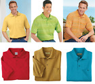 NEW Haband Men Classic Pique Knit Polo Rugby Top Shirt FREE SHIPPING