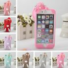 COVER silicone 3D bunny rabbit for models iphone 4 5 6 7 8 Plus X