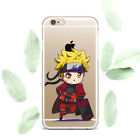 Cute Naruto iPhone X XS Max XR Silicone Gel Cover Anime iPhone 6s 7 8 Plus Case