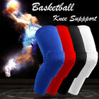 Youth Pad Leg Support Honeycomb Basketball Knee Long Sleeve Brace Support Sports