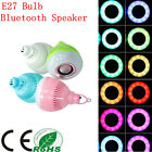 3000mAh Camping Wireless Bluetooth Speaker 12W E27 RGB LED Bulbs for Android IOS