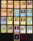 Assorted Poke'mon Cards, 96 Cards (16 Holofoil) See Details For Card Values