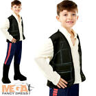 Han Solo Boys Fancy Dress Star Wars Scifi Hero Film Movie Childs Costume Outfit
