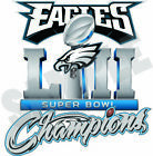 Philadelphia Eagles 2018 Super Bowl Champions 52 Decal / Sticker