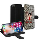 Betty Boop Printed PU Leather Stand Wallet Case for Samsung Galaxy Models - 0019 $23.3 AUD on eBay