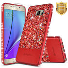 For Samsung Galaxy Note 5 | Bling Glitter Slim Shockproof Hybrid Case Cover