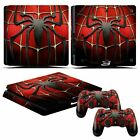 Sticker Decal Skin Kit for Playstation4 Slim Console & PS4 Remote Protect Cover