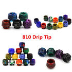 2018 Wide Bore Resin Mouthpiece Cap 810 Drip Tip Epoxy for TFV8/12 Cloud Beast