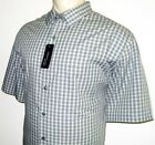 NEW VAN HEUSEN MENS SHIRT Aqua Blue Gray Button Down 3X 3XL 4X 4XL