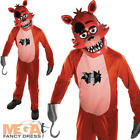 Foxy Boys Fancy Dress Five Nights at Freddy's Childrens Kids Halloween Costume