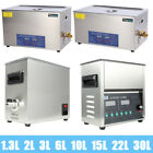 2 -22L/30L Digital Stainless Ultrasonic Cleaner Ultra Sonic Bath Cleaning Tank