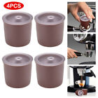 4/10Pcs Refillable Coffee Filter Reusable Filling Capsule For Illy Coffeemaker