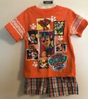 Nickleodeon Brand Boys 2pc Paw Patrol Short Set Sz 3T