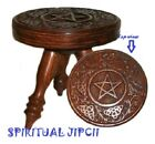 """Pentagram ALTAR Table 6"""" 3 Leg WICCA Pagan Voodoo RARE Portable Witchcraft"""