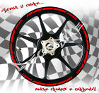 Adesivi ruote MOTO cerchi DUCATI Diavel Hypermoterd Monster stickers wheel
