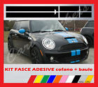 ADESIVI FASCE MINI bonnet and back door STRIPES MINI COOPER cofano baule COD7