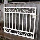 """30""""t x 36""""w Ornate Delaney Handmade Wrought Iron Entry Gate SHIPS FREE"""