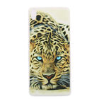 For Sony Xperia XA Ultra XZ XZ1 Shockproof Soft Silicone Painted Back Case Cover