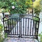 Donovan Double Swing Iron Gate - 5' Wide Entry Gate SHIPS FREE