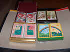 Playing cards - Playing Crds Decks FLOWERS  Lot 1