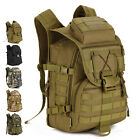 TACVASEN 40L Backpack Tactical Package Mountaineering Military Camouflage Bag