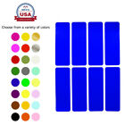 Внешний вид - Rectangle Color Coding 3x1 Inch Labels to Write On Crafts Decoration Stickers