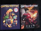 2 LOT Gameinformer Worlds #1 Video Game Magazine Jan & Aug 2017-Issues 285 & 292