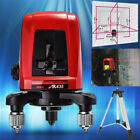 AK435 360 Degree Self-leveling Cross Laser Level 2 Line 1 Point +Free Bag Sale